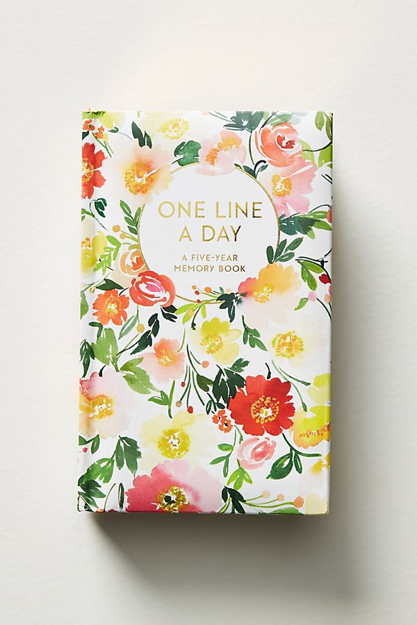 One Line A Day:A Five-Year Memory Book