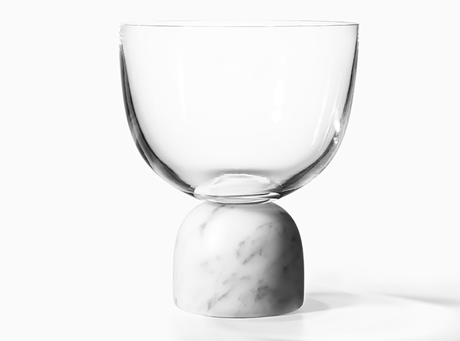 On the Rock Wine Glass