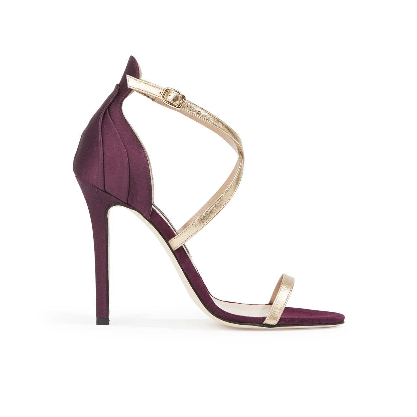 Zac Posen Metallic Sandals