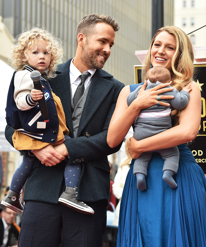 Ryan Reynolds and Blake Lively Family Photo - Lead