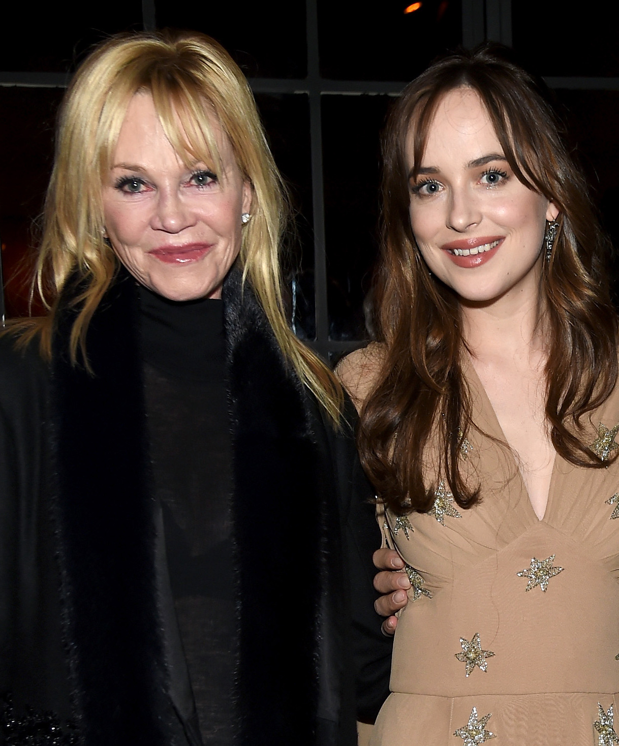Dakota Johnson and Melanie Griffith - Lead