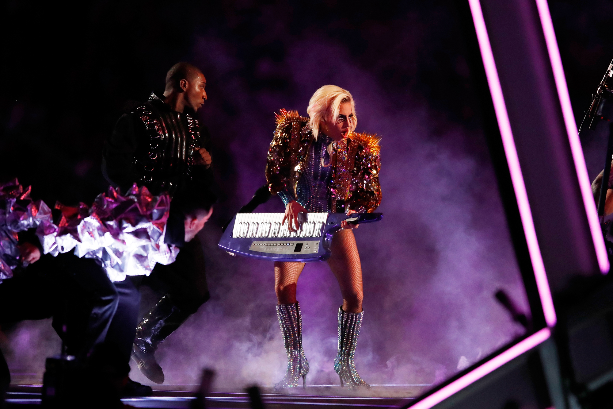 Lady Gaga - Super Bowl - outfit 2