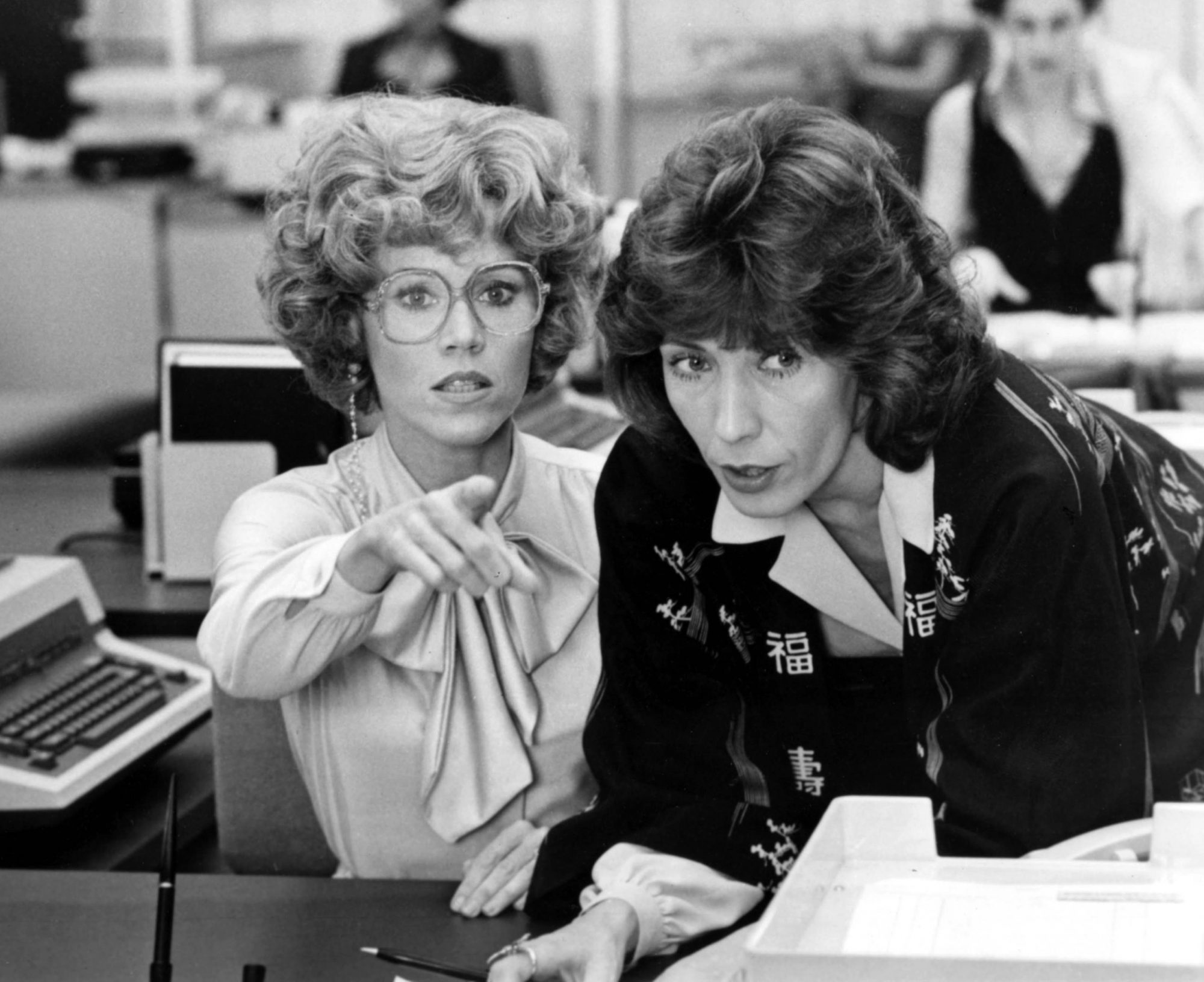 Jane Fonda and Lily Tomlin - 9 to 5 - LEAD