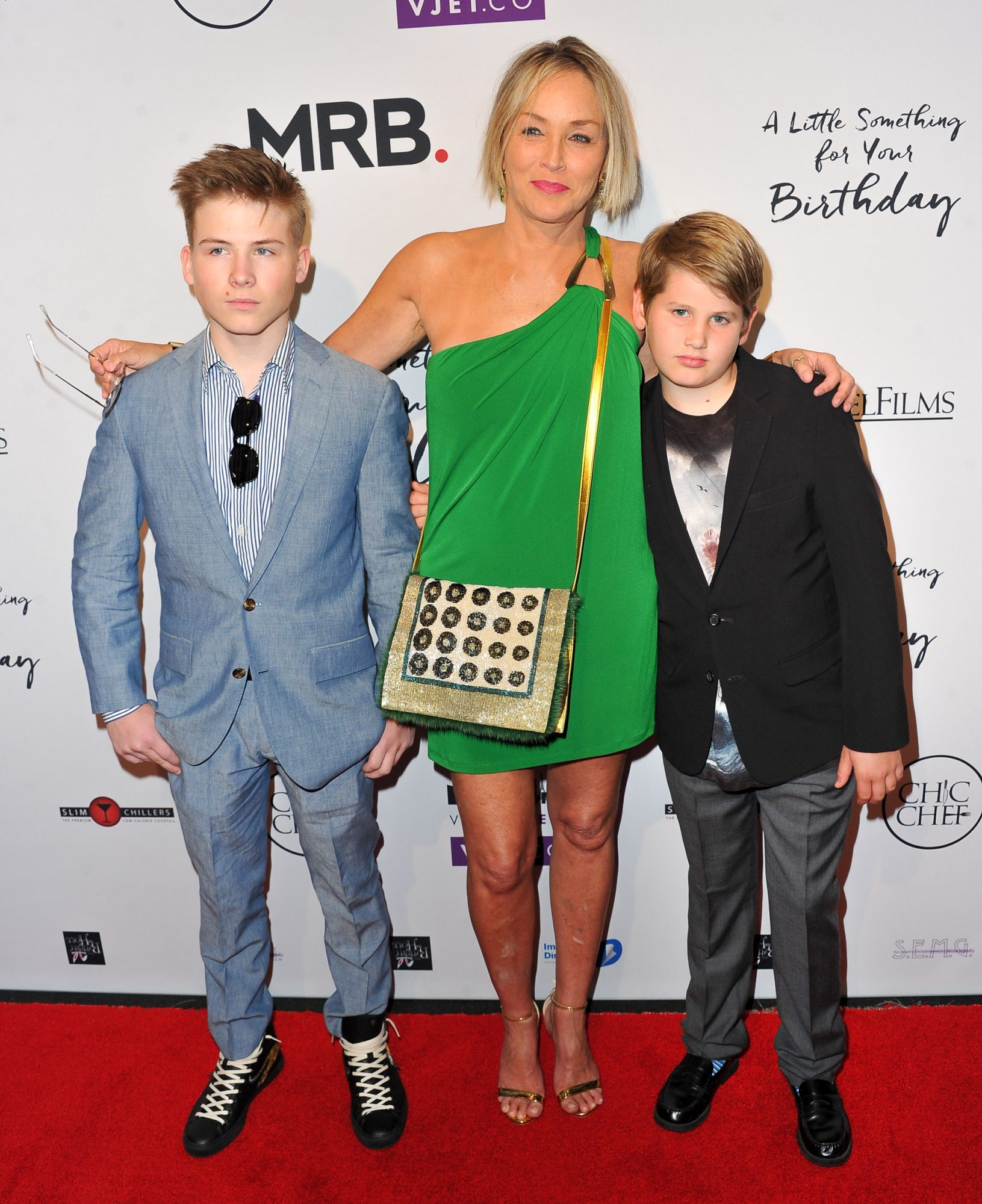 Sharon Stone and Sons - Embed