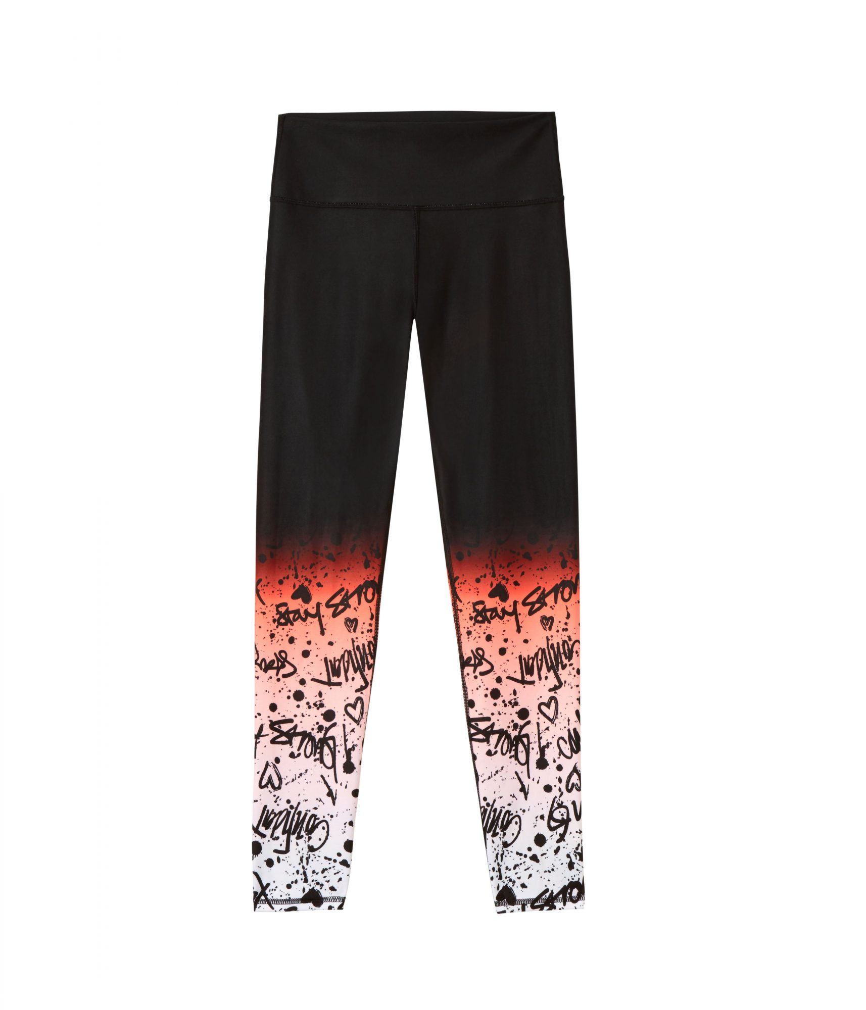 Lisette High-Waisted Legging in Tag Ombré Print
