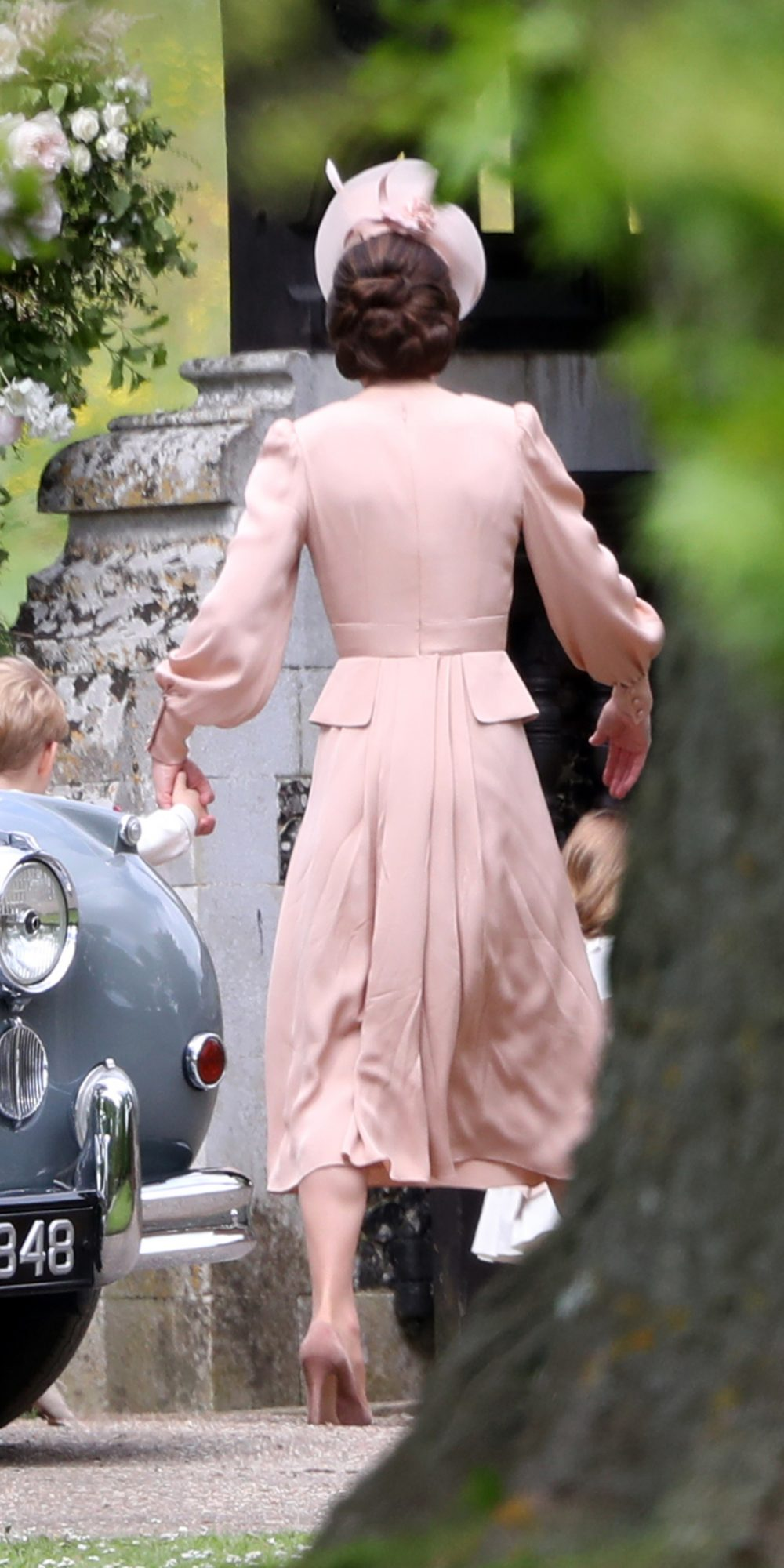 Kate Middleton Pippa Wedding Back View - Embed
