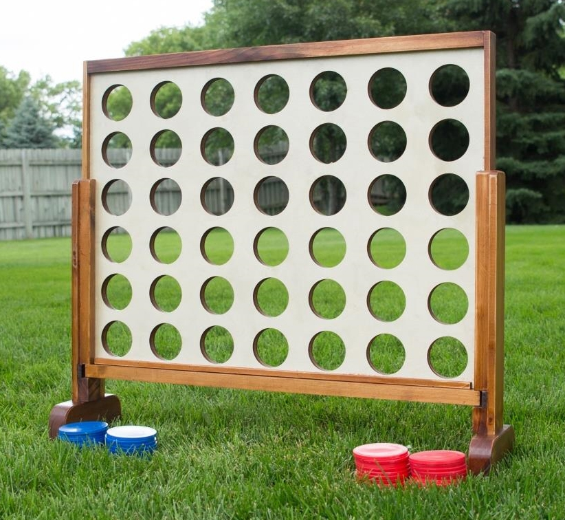 YardGames US 4 Connect in a Row Giant Board Game