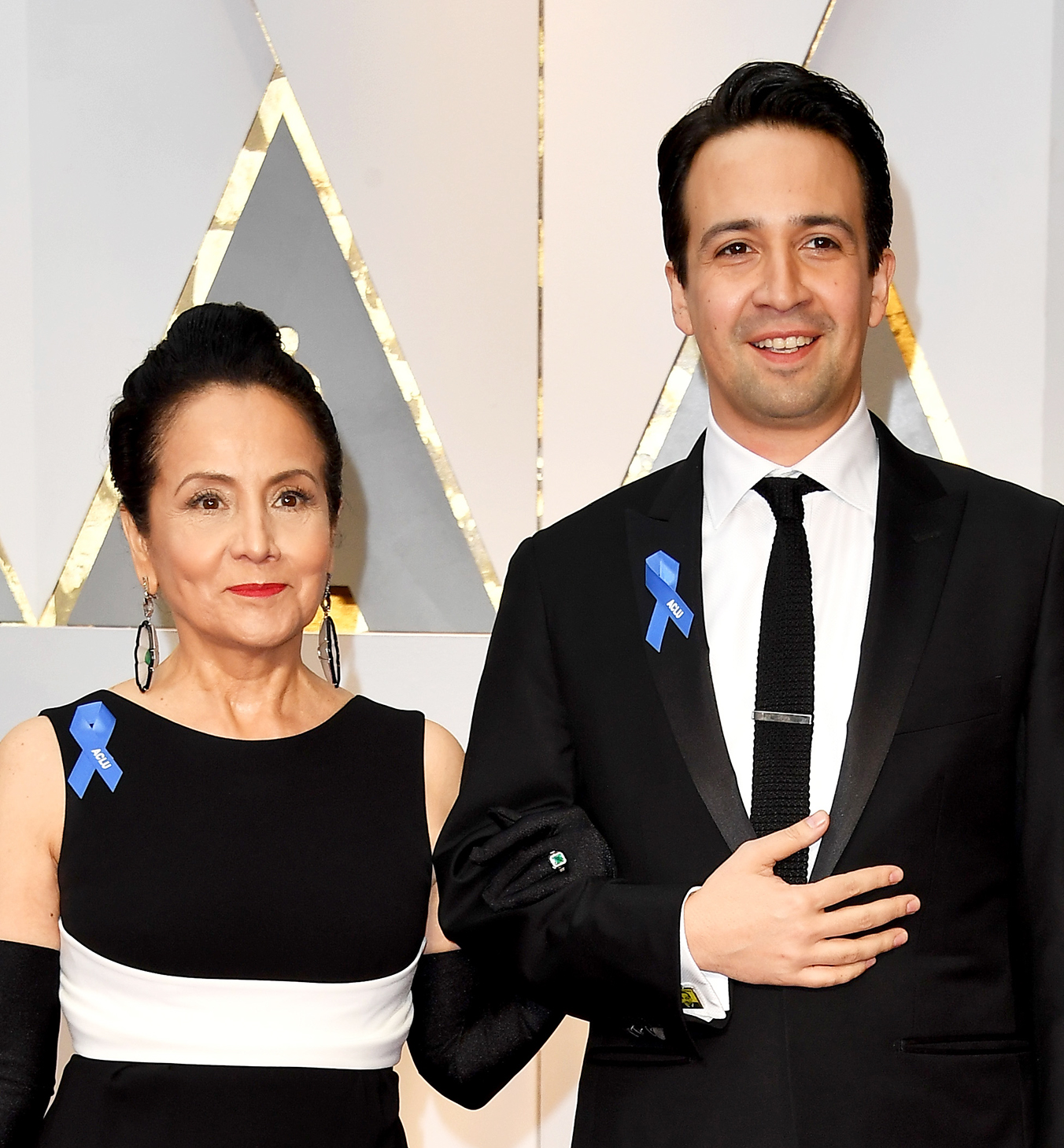 Lin-Manuel Miranda and mother Luz Towns-Miranda