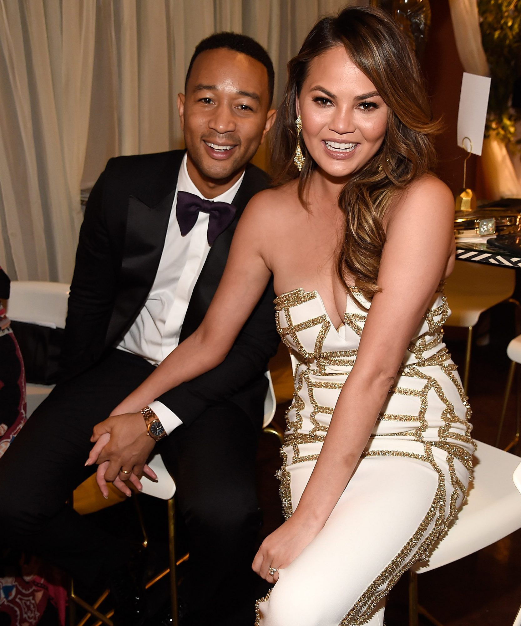 Chrissy Teigen John Legend Tony Awards 2017 - LEAD