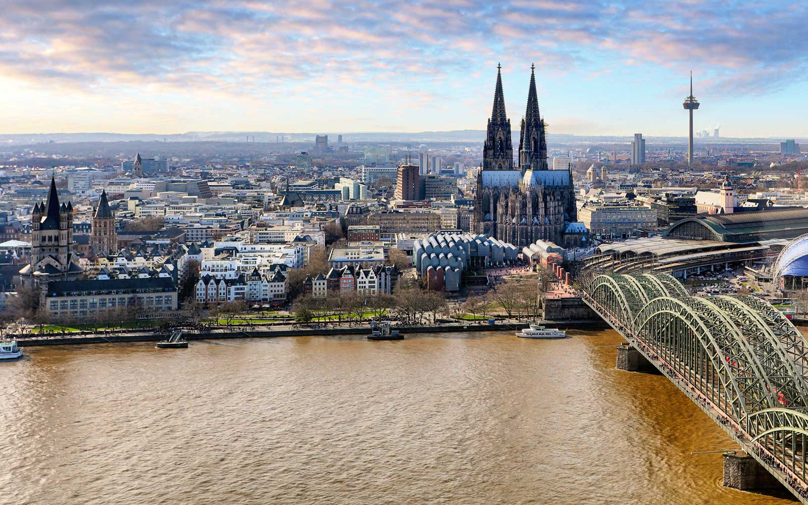 Honeymoon in Cologne Germany