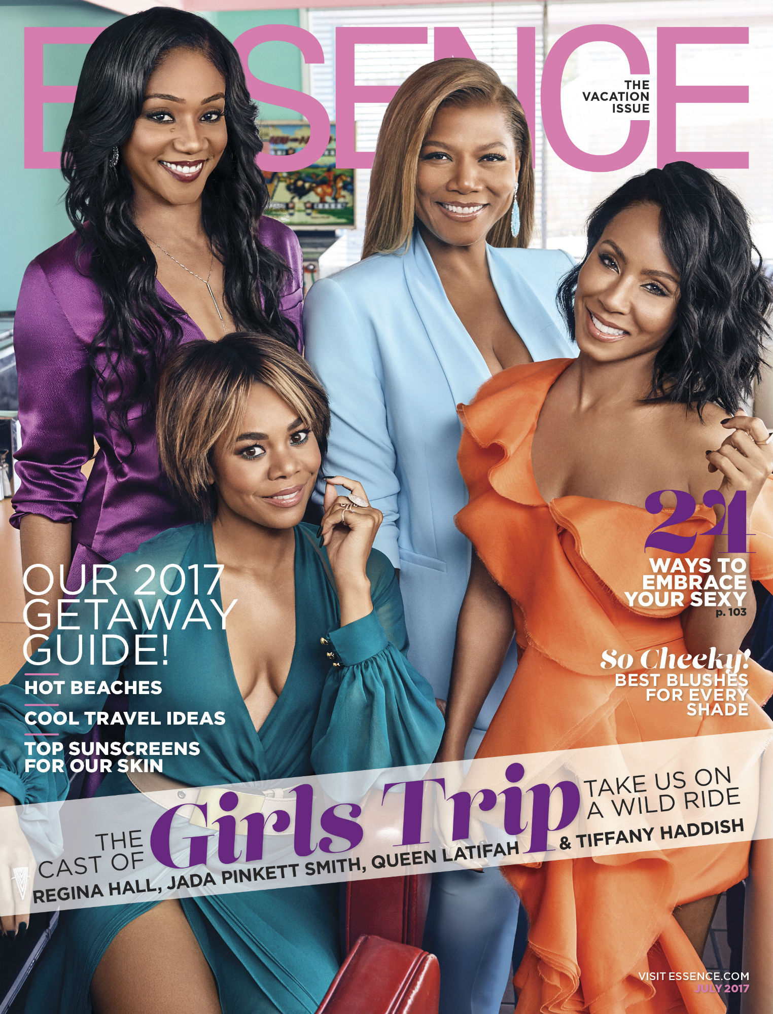 Essence July 2017 Cover Girls Trip - LEAD