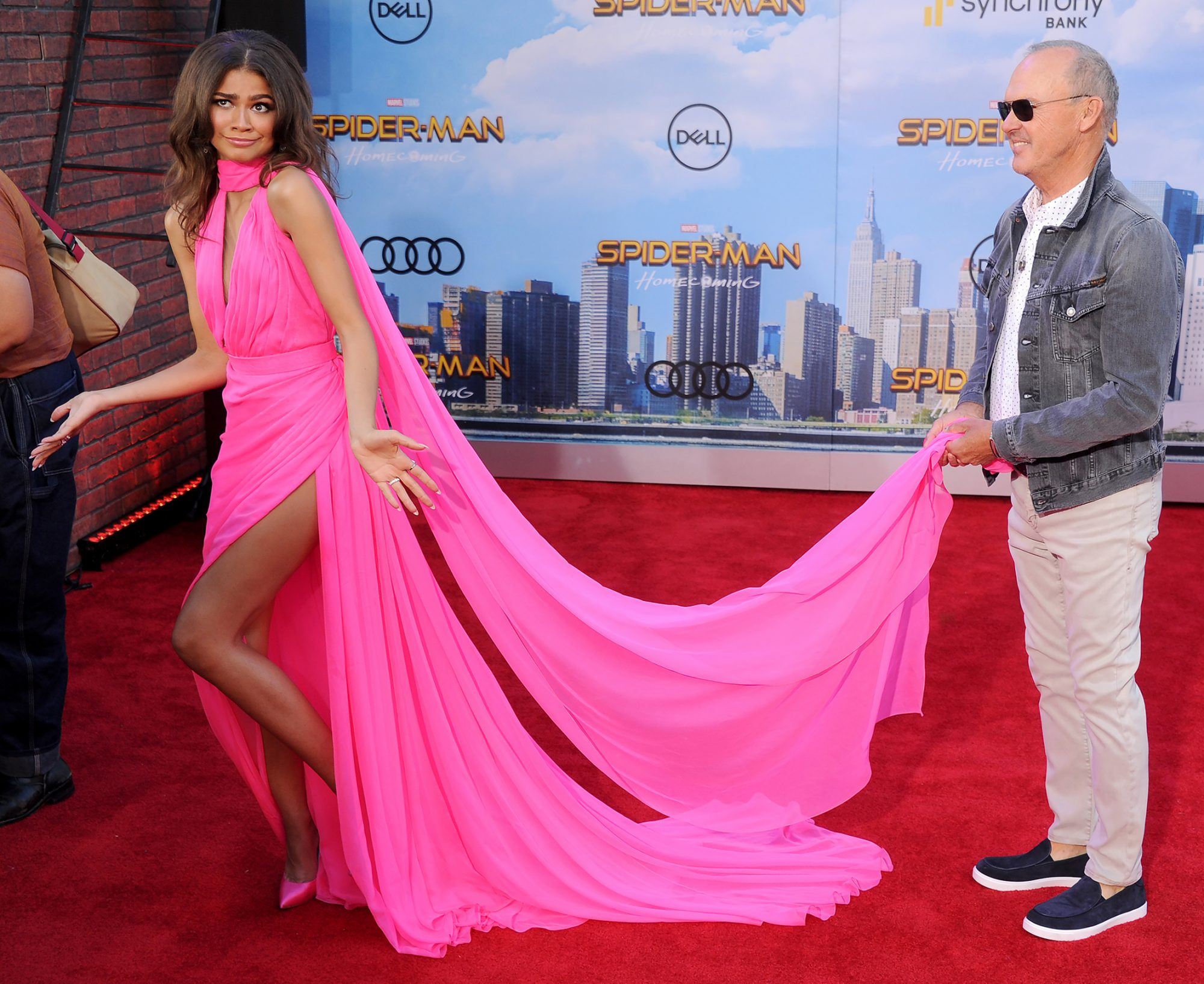 Michael Keaton and Zendaya - Embed