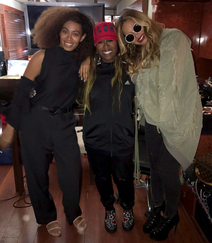 Work It! Beyoncé Steps Out with Solange to Attend Missy Elliott Concert 5 Weeks After Twins' Birth