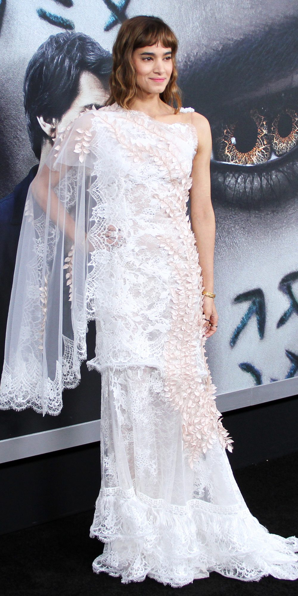 In Rodarte at the N.Y.C. Premiere ofThe Mummy
