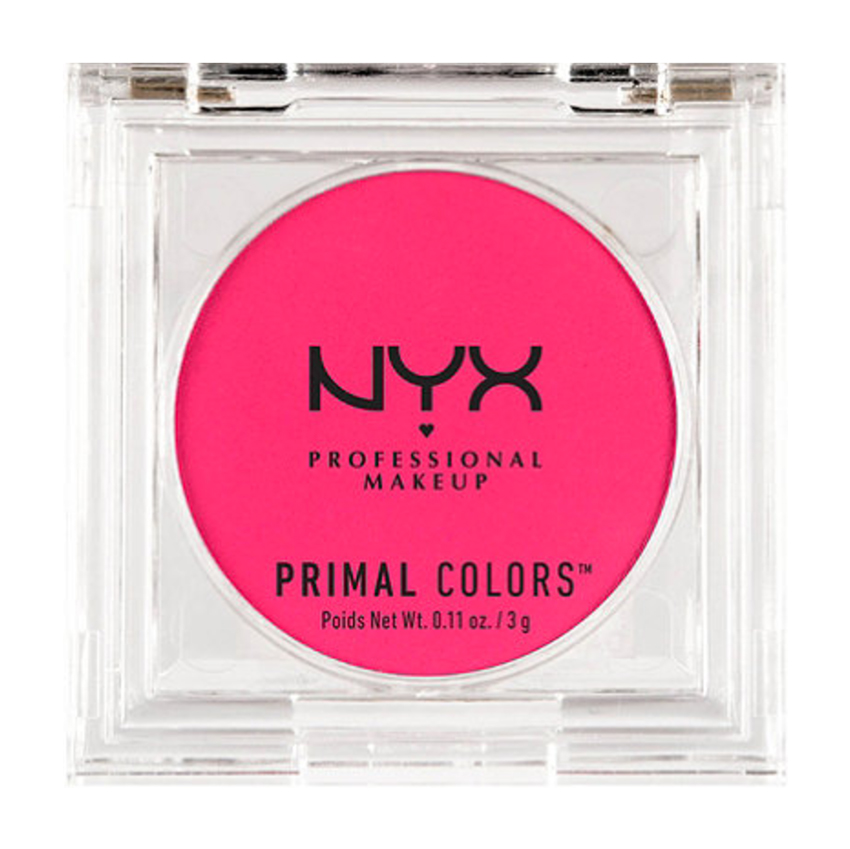 Very Deep complexions: NYX Primal Colors Pressed Pigments Face Powder in Hot Pink