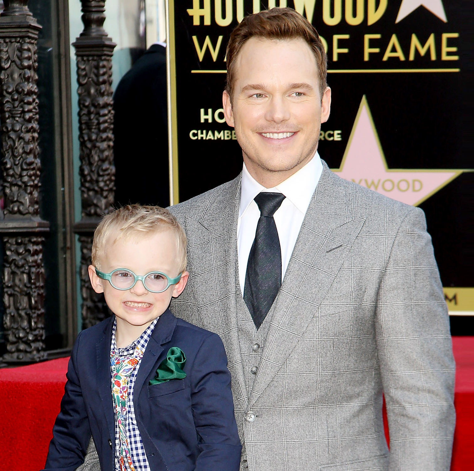 Chris Pratt and Jack LEAD
