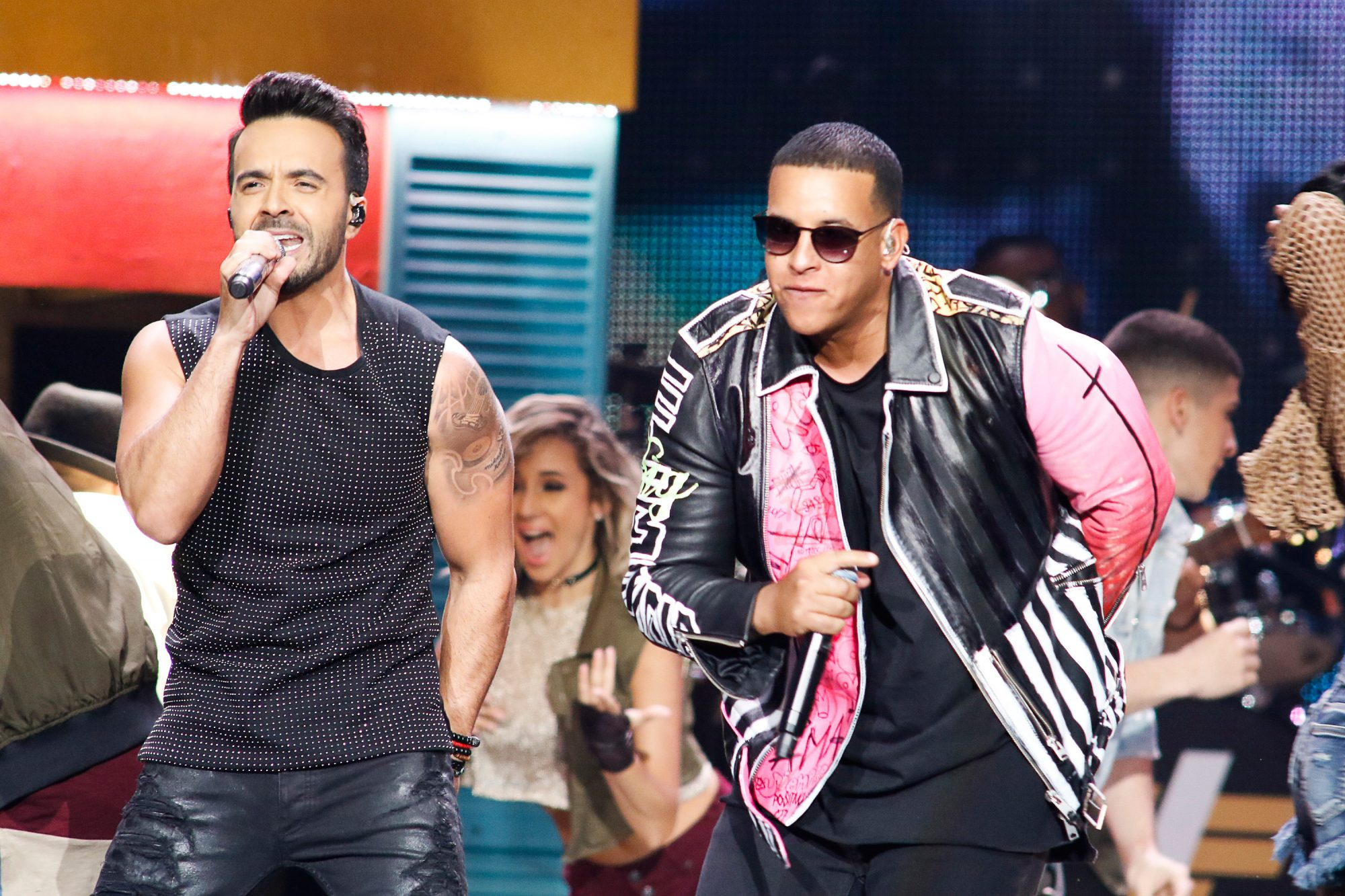 Luis Fonsi - DespacitoPREMIOS BILLBOARD DE LA MÚSICA LATINA 2017 -- Pictured: Luis Fonsi, Daddy Yankee perform on stage at the Watsco Center in the University of Miami, Coral Gables, Florida on April 27, 2017