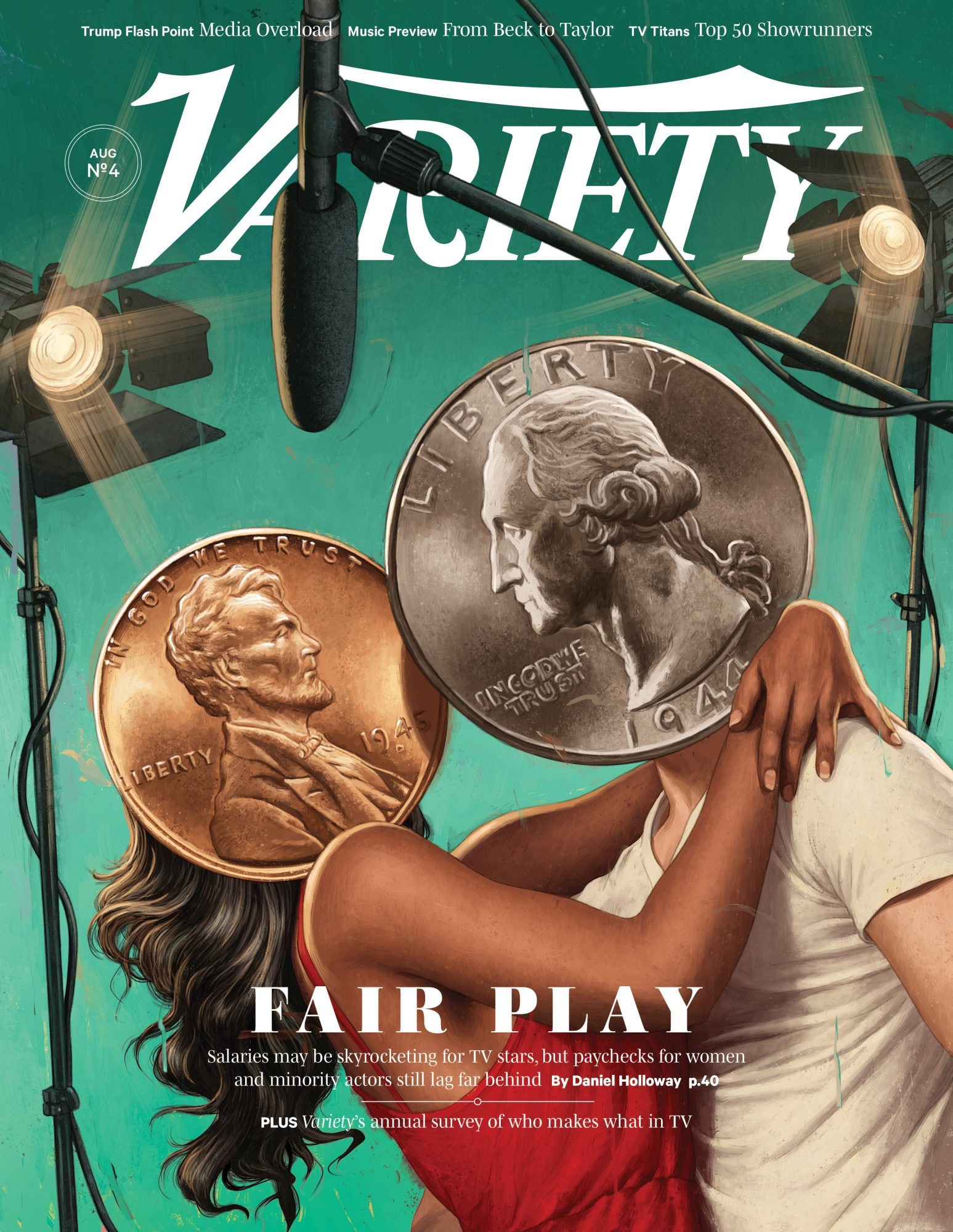 Celebrity Salaries - Variety Cover