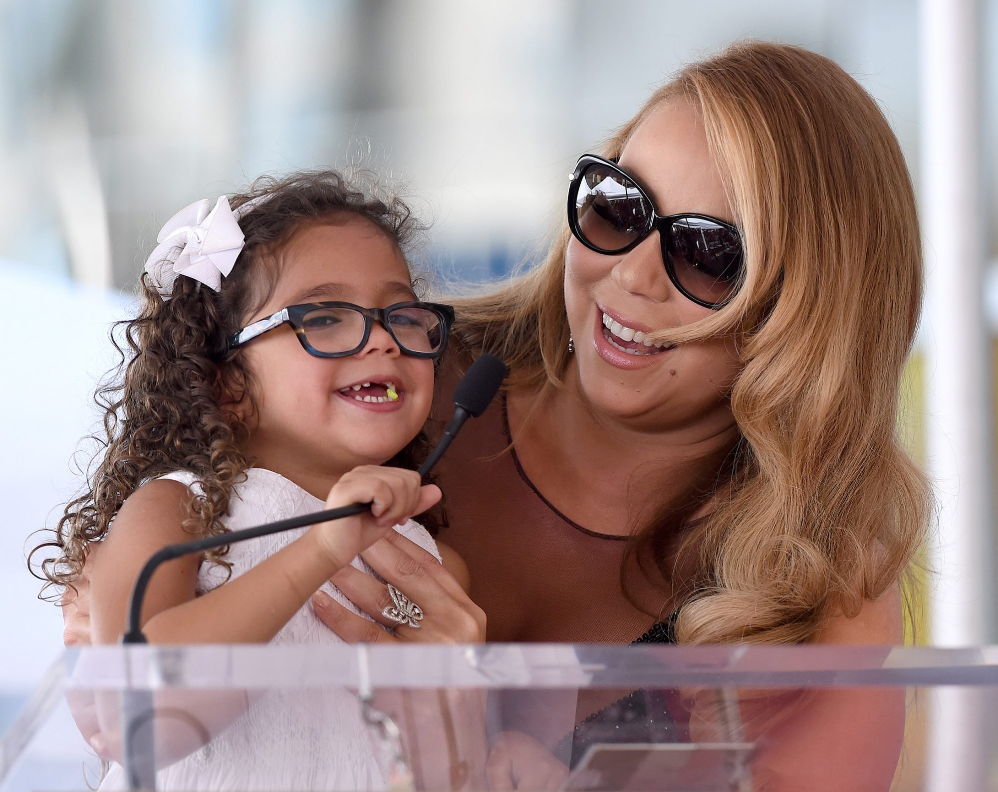 Mariah Carey and Daughter Monroe Cannon