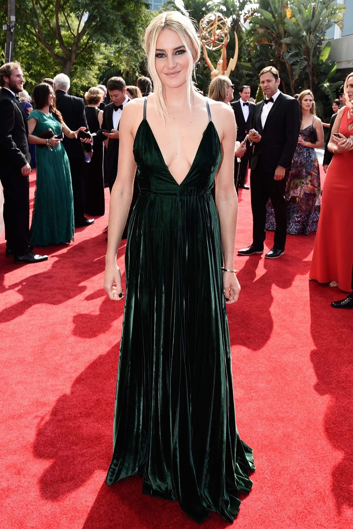 Shailene Woodley in Ralph Lauren Collection