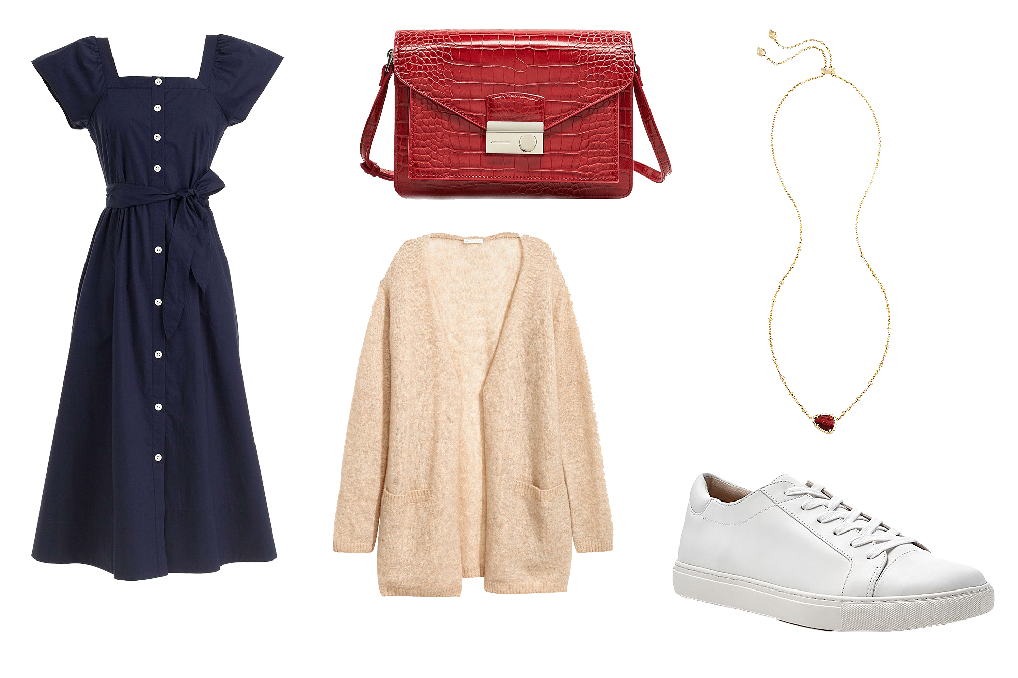 Shopping: 3 Fresh Ways to Wear White Sneakers for Fall