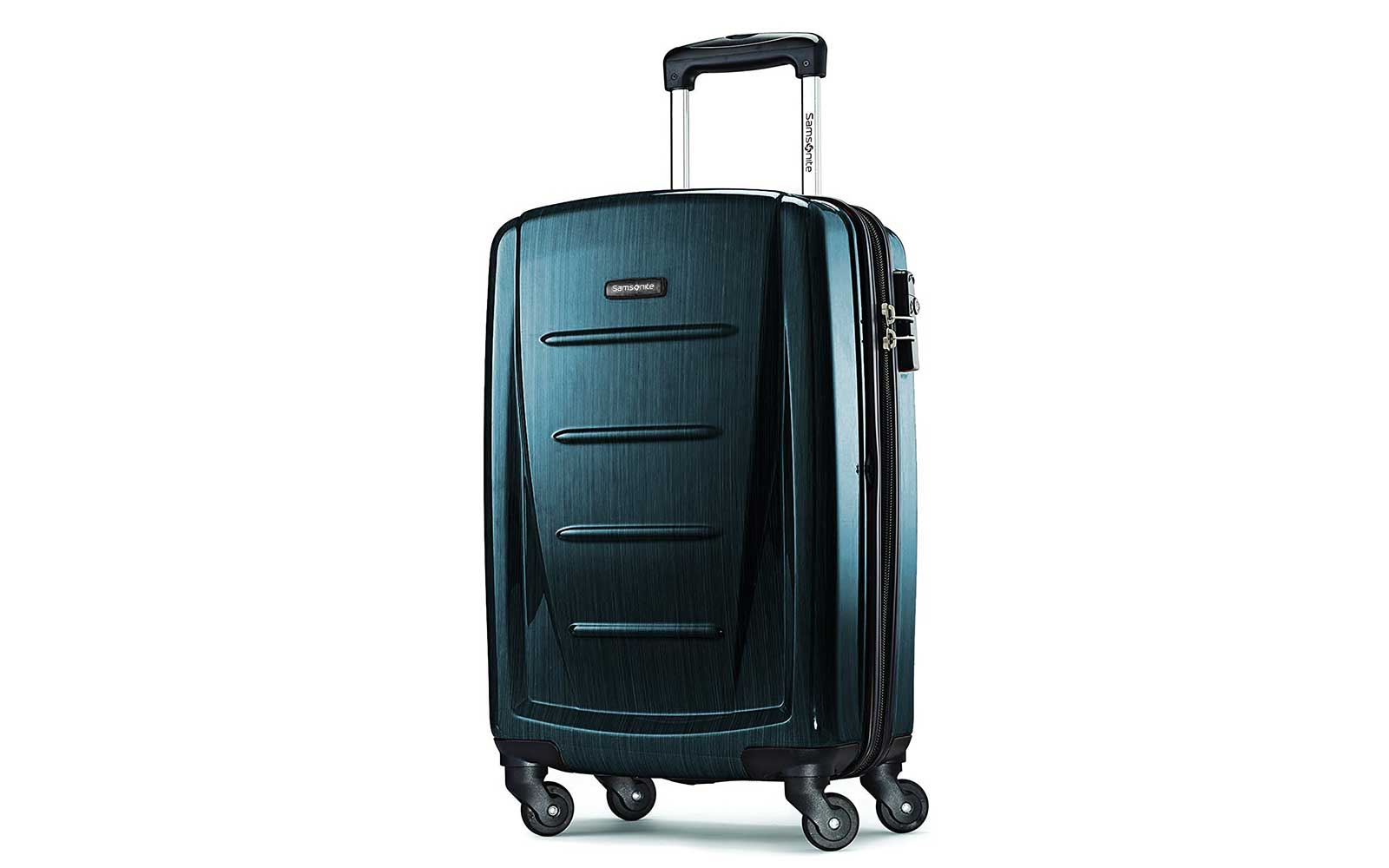 Samsonite Teal Suitcase
