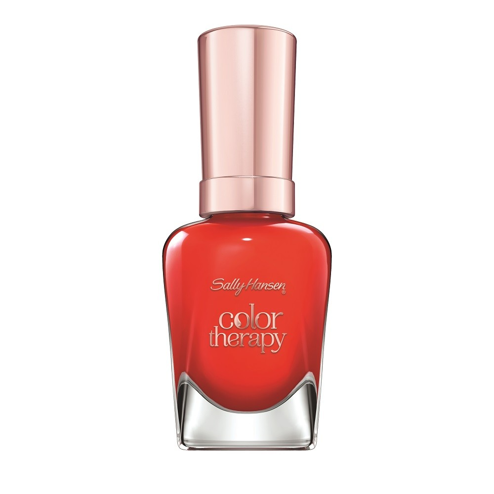 Sally Hansen Color Therapy Nail Polish, Red-iance