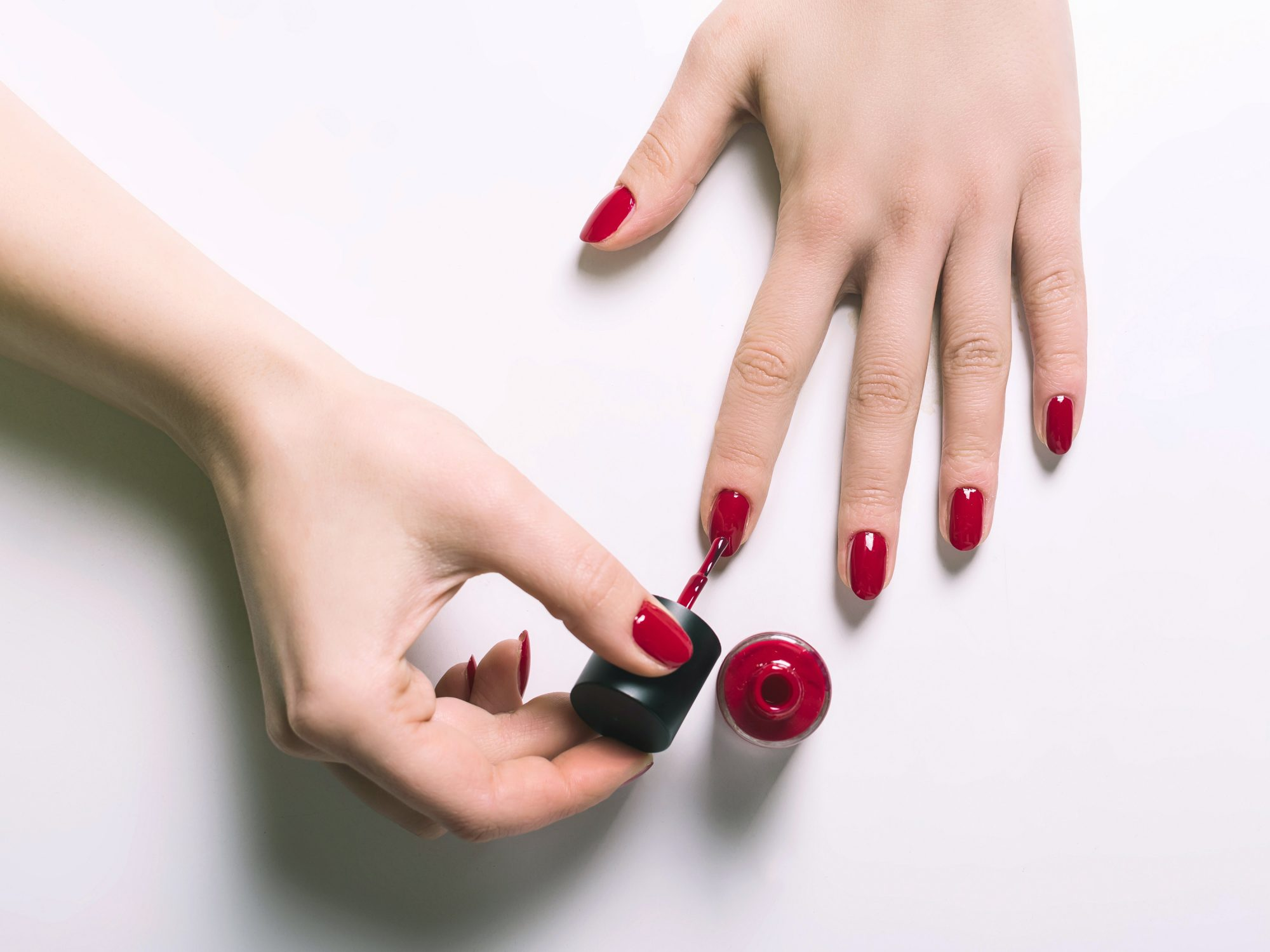 Younger Hands - Red Nail Polish