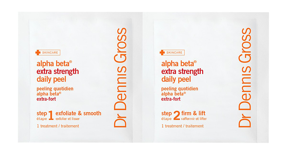 Best Anti-Aging Exfoliator: Dr. Dennis Gross Skincare Alpha Beta Extra Strength Daily Peel