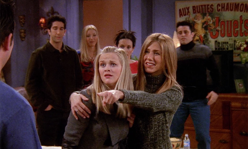 Jennifer Aniston Reese Witherspoon Friends