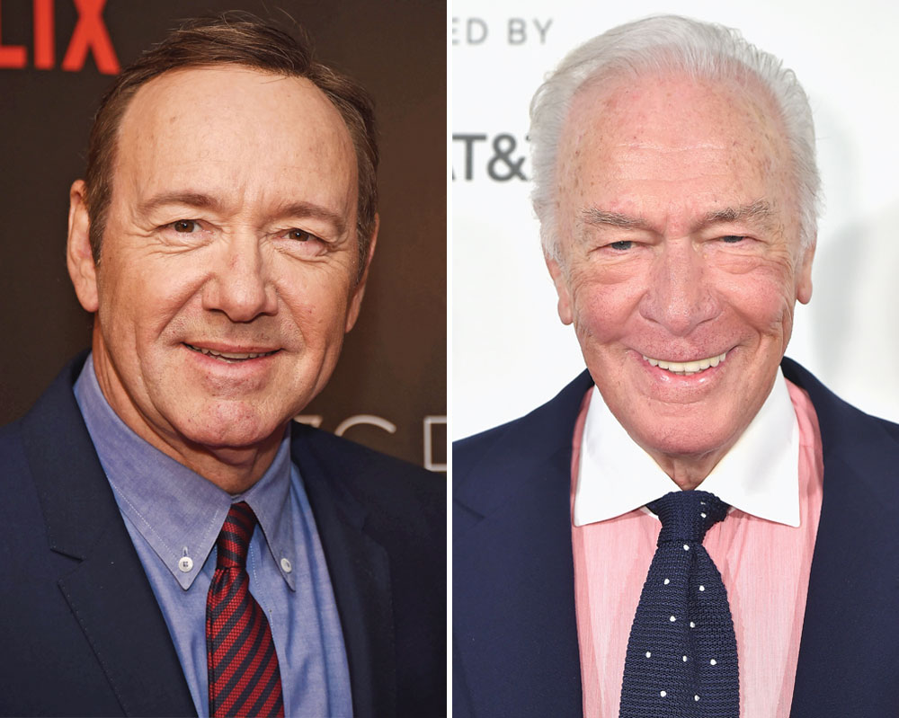 Kevin Spacey Christopher Plummer Embed