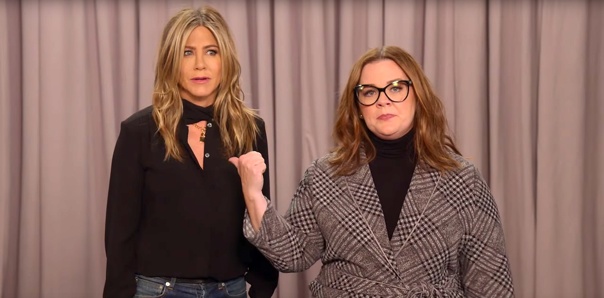 Jennifer Aniston, Melissa McCarthy