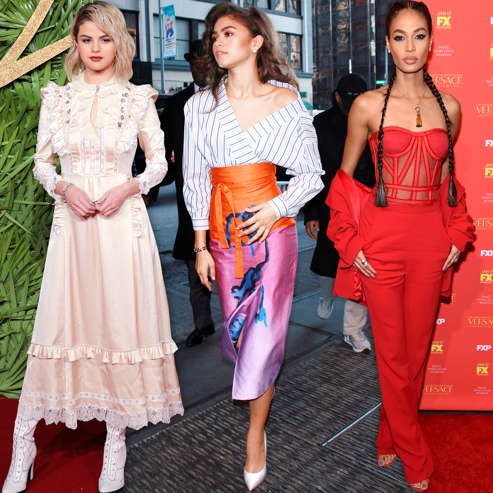 Holiday Celeb Outfits