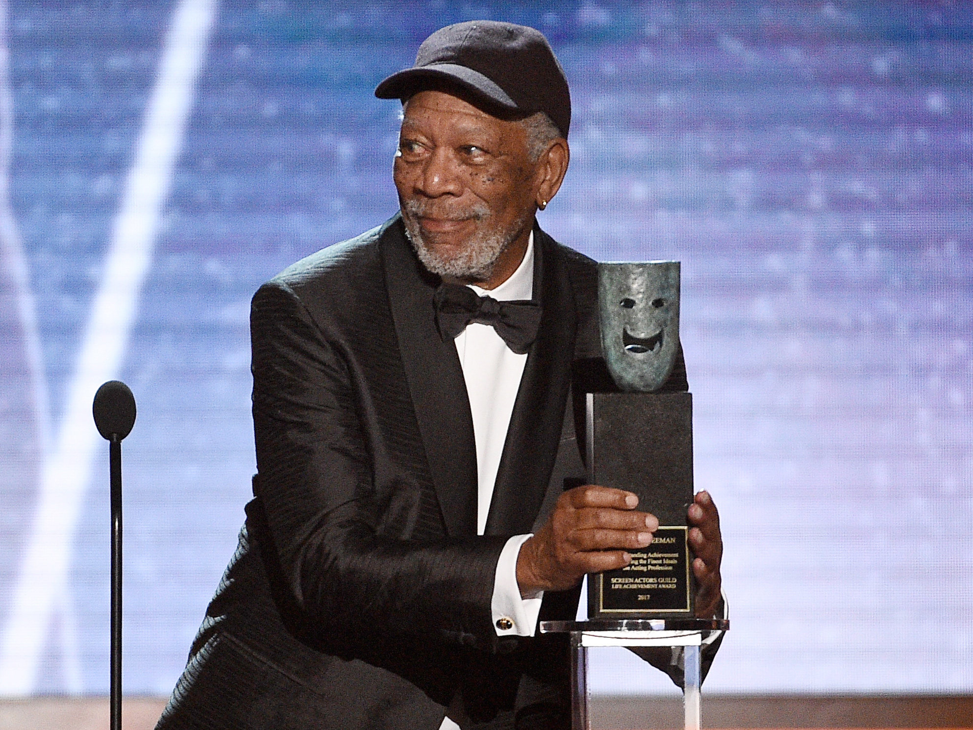 Morgan Freeman SAG