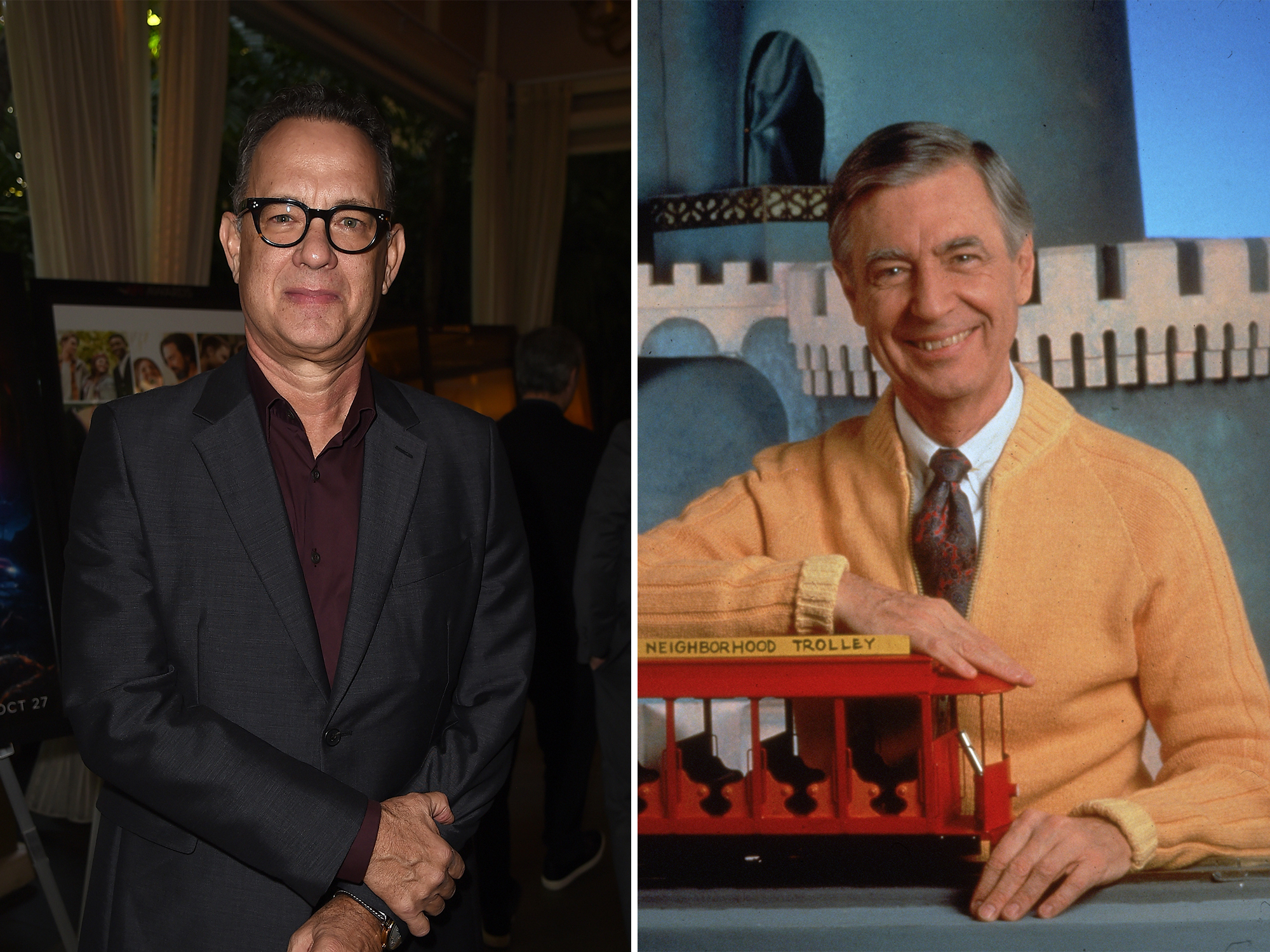 Mr Rogers, Tom Hanks