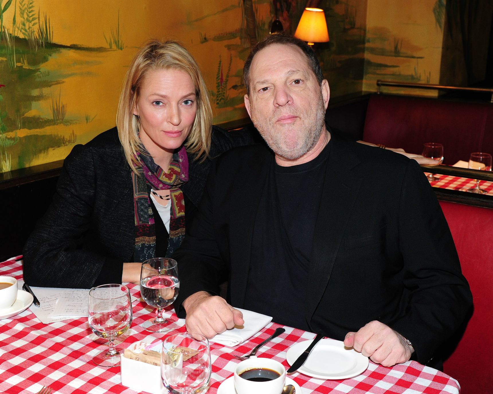 Uma Thurman Harvey Weinstein
