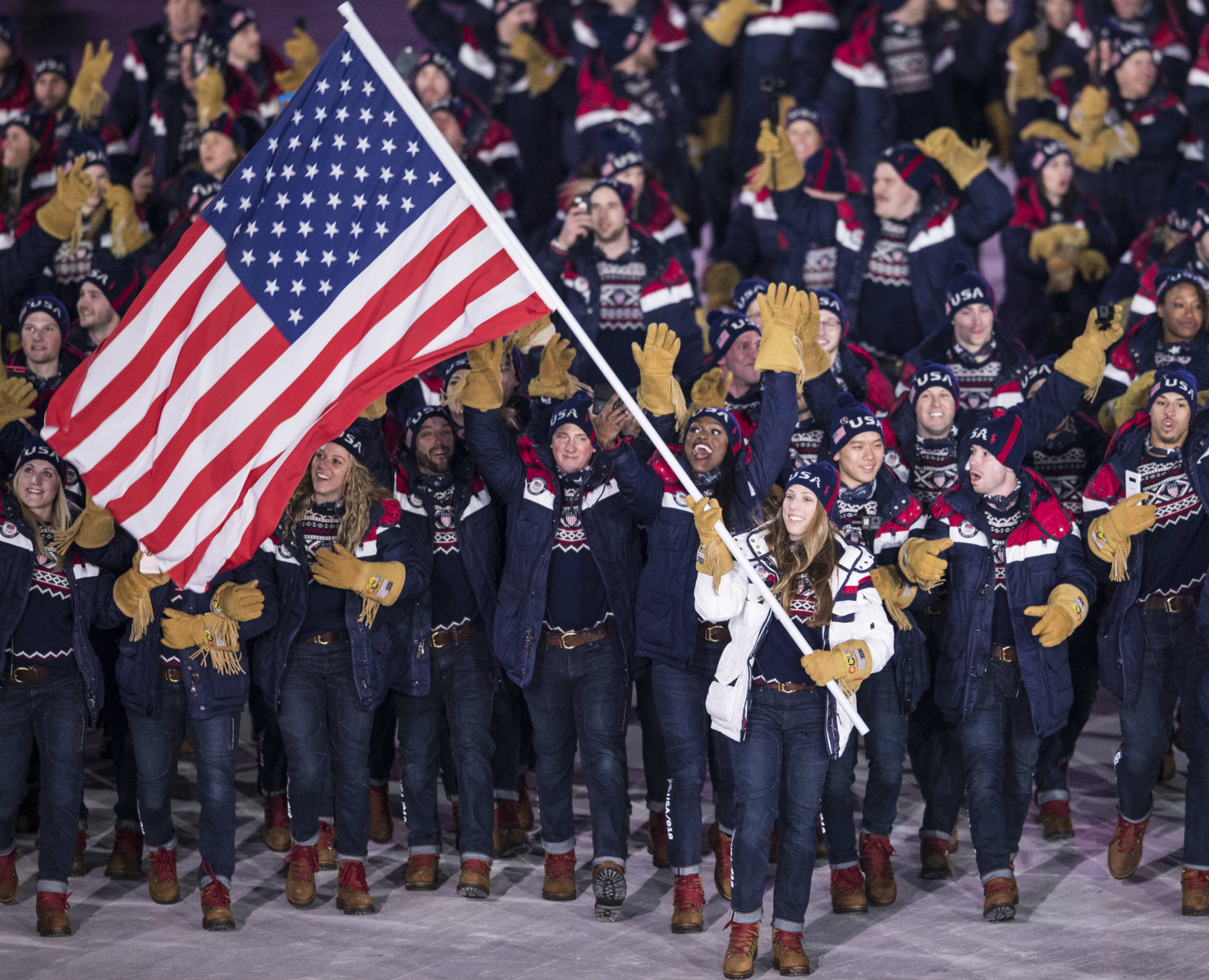 Team USA Opening Ceremony - Lead