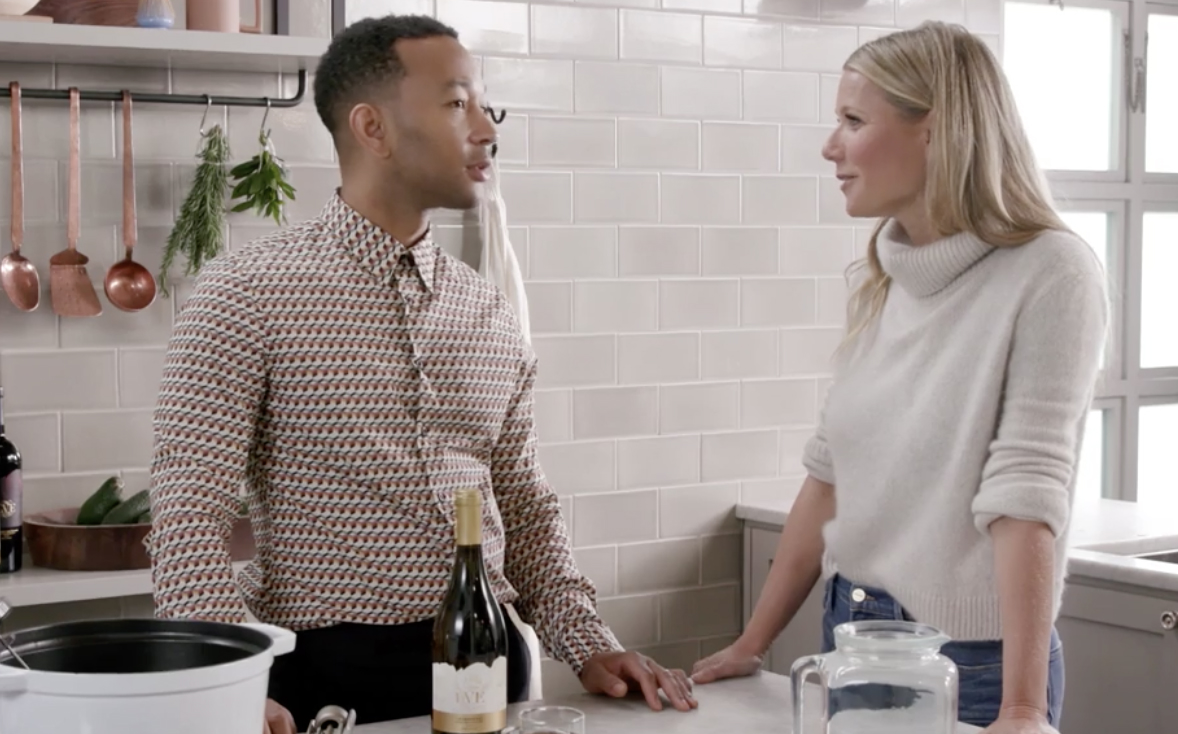 Gwyneth Paltrow John Legend