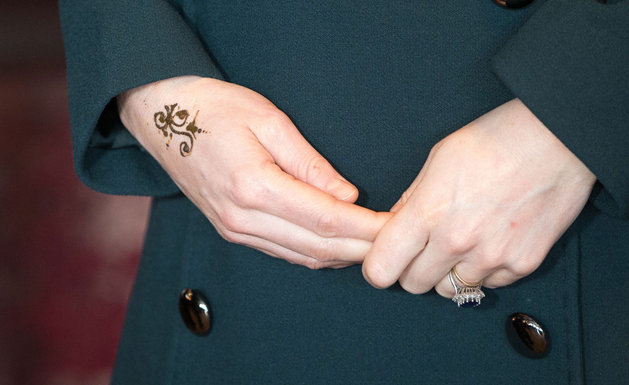 Kate Middleton Henna Tattoo