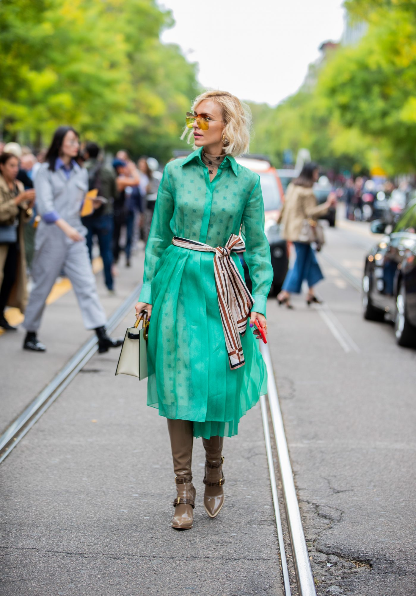 St. Patrick's Day Outfit Ideas, Green Dress