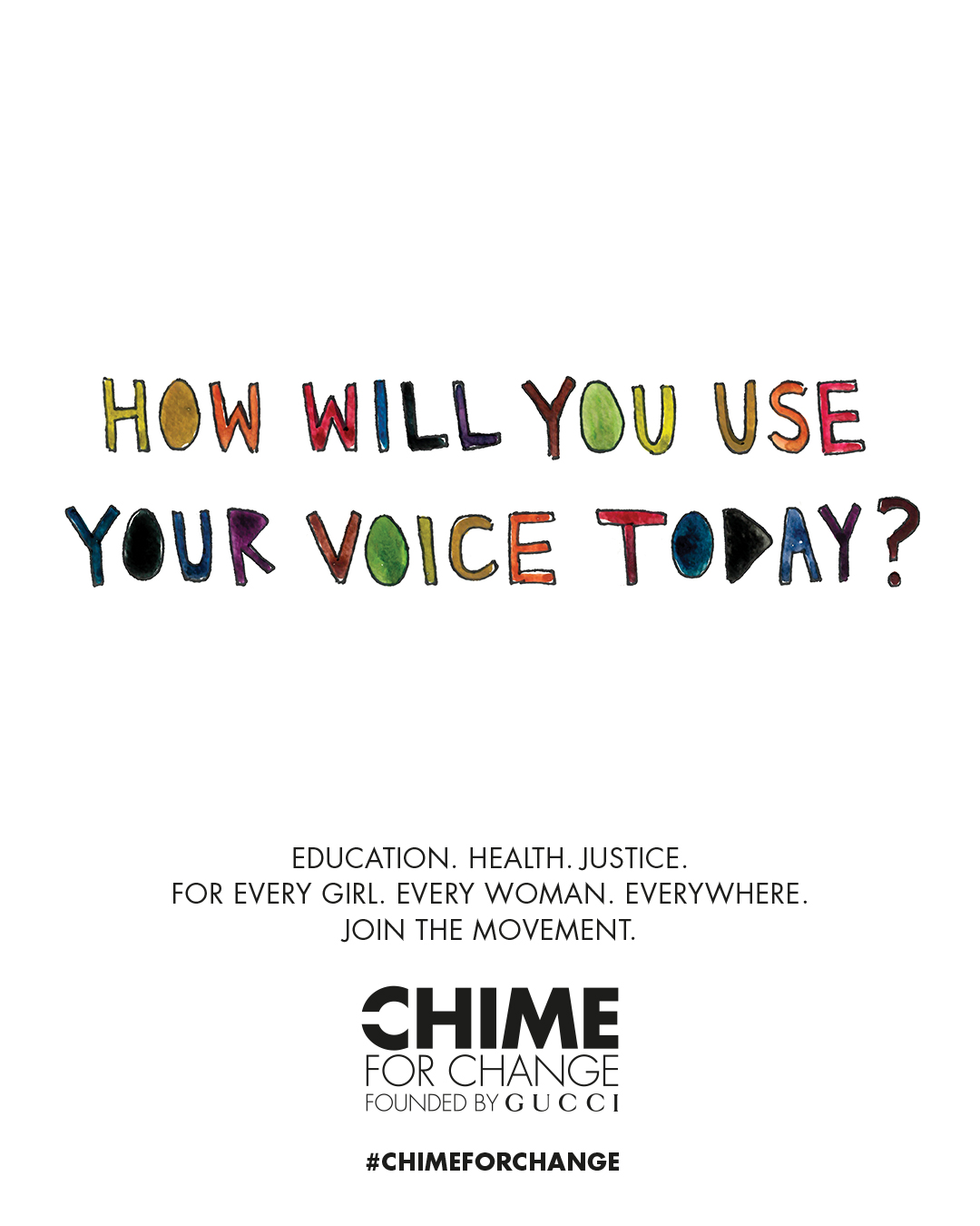 Chime for Change Embed 1