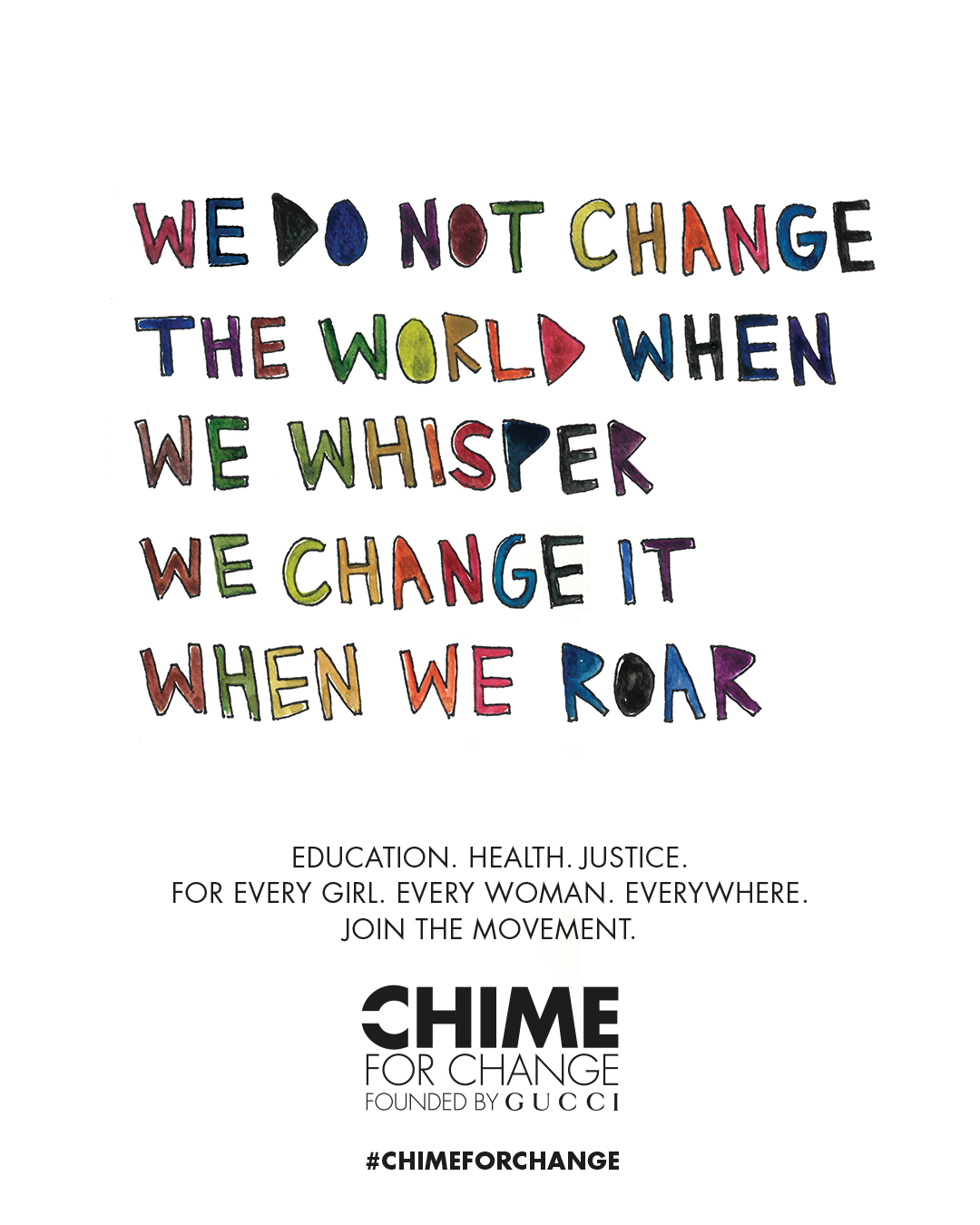 Chime for Change Embed 2