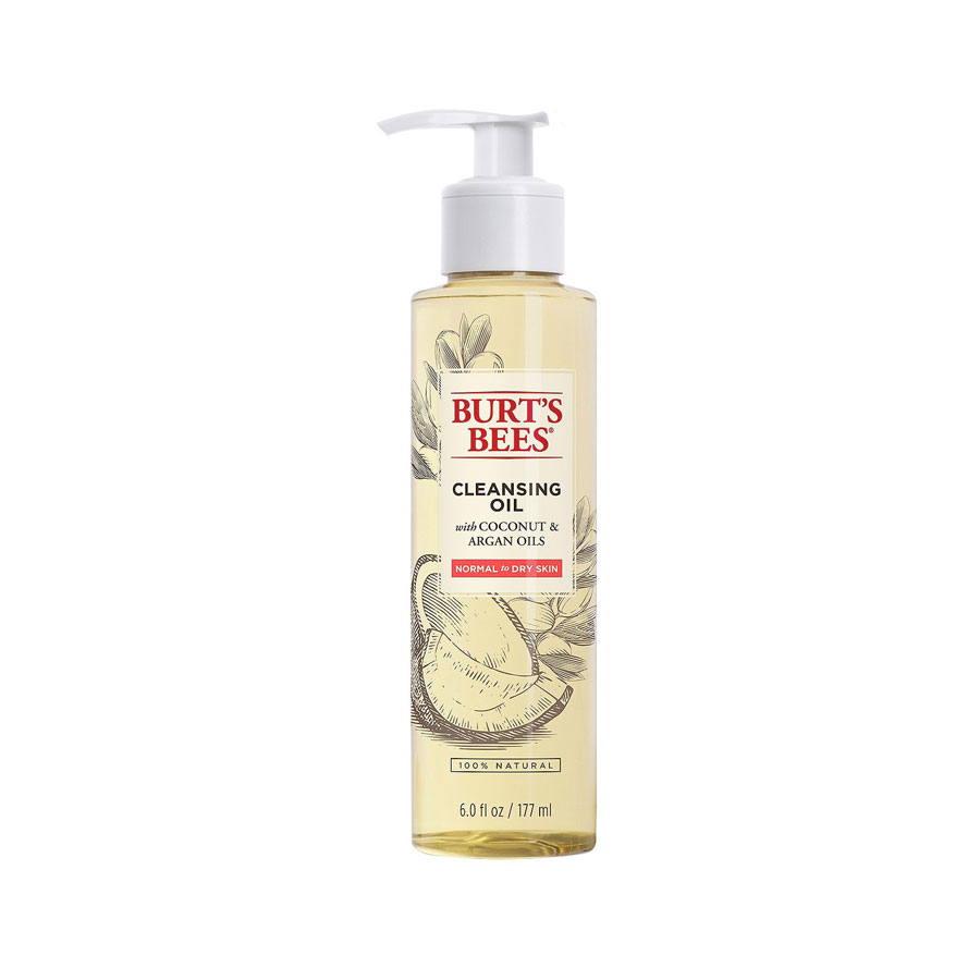 Best Drugstore Face Washes - Burt's Bees Facial Cleansing Oil With Coconut & Argan Oil