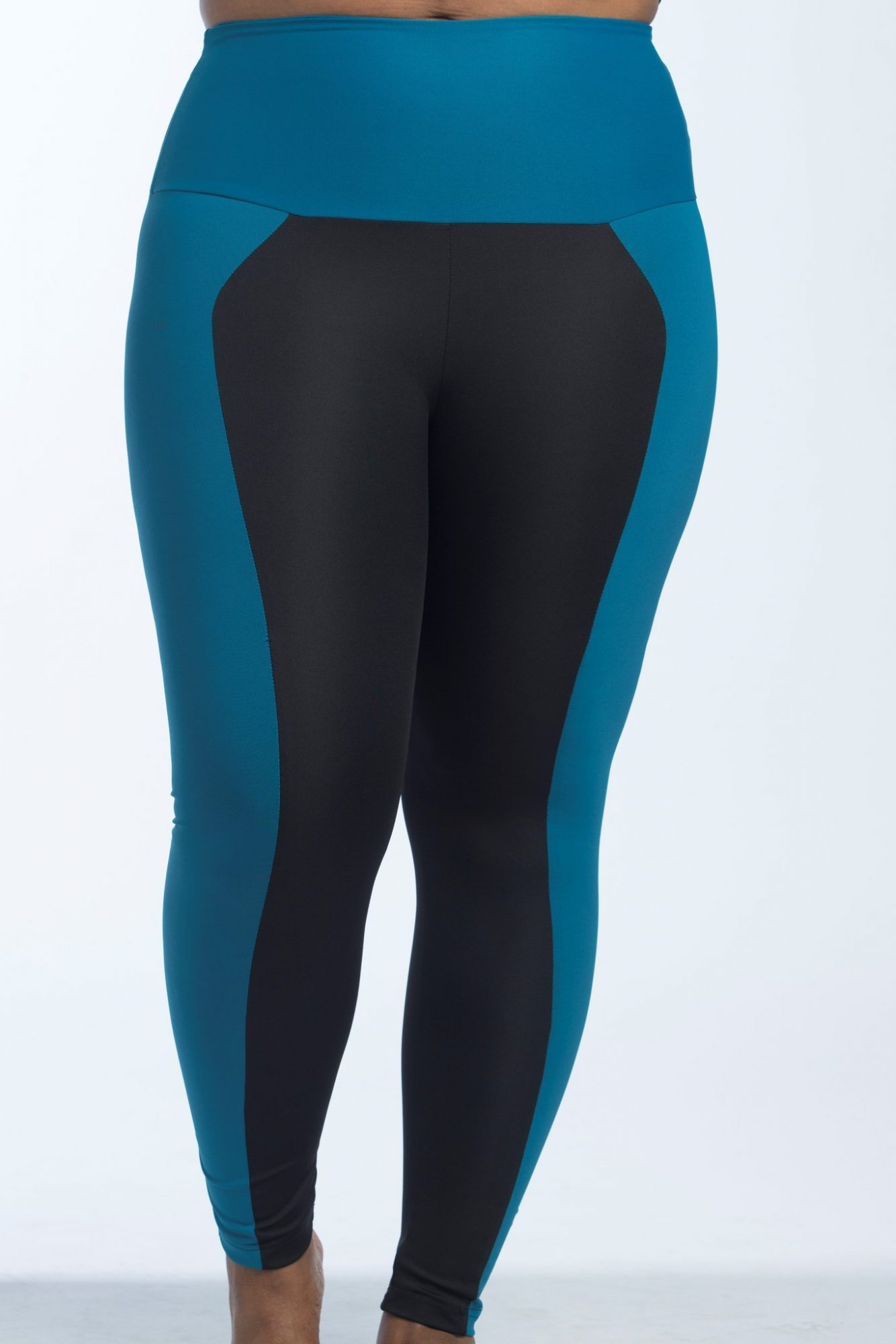 color bloack leggings