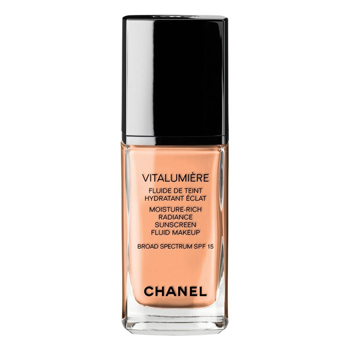 CHANEL VITALUMIÈRE MOISTURE-RICH RADIANCE SUNSCREEN FLUID MAKEUP