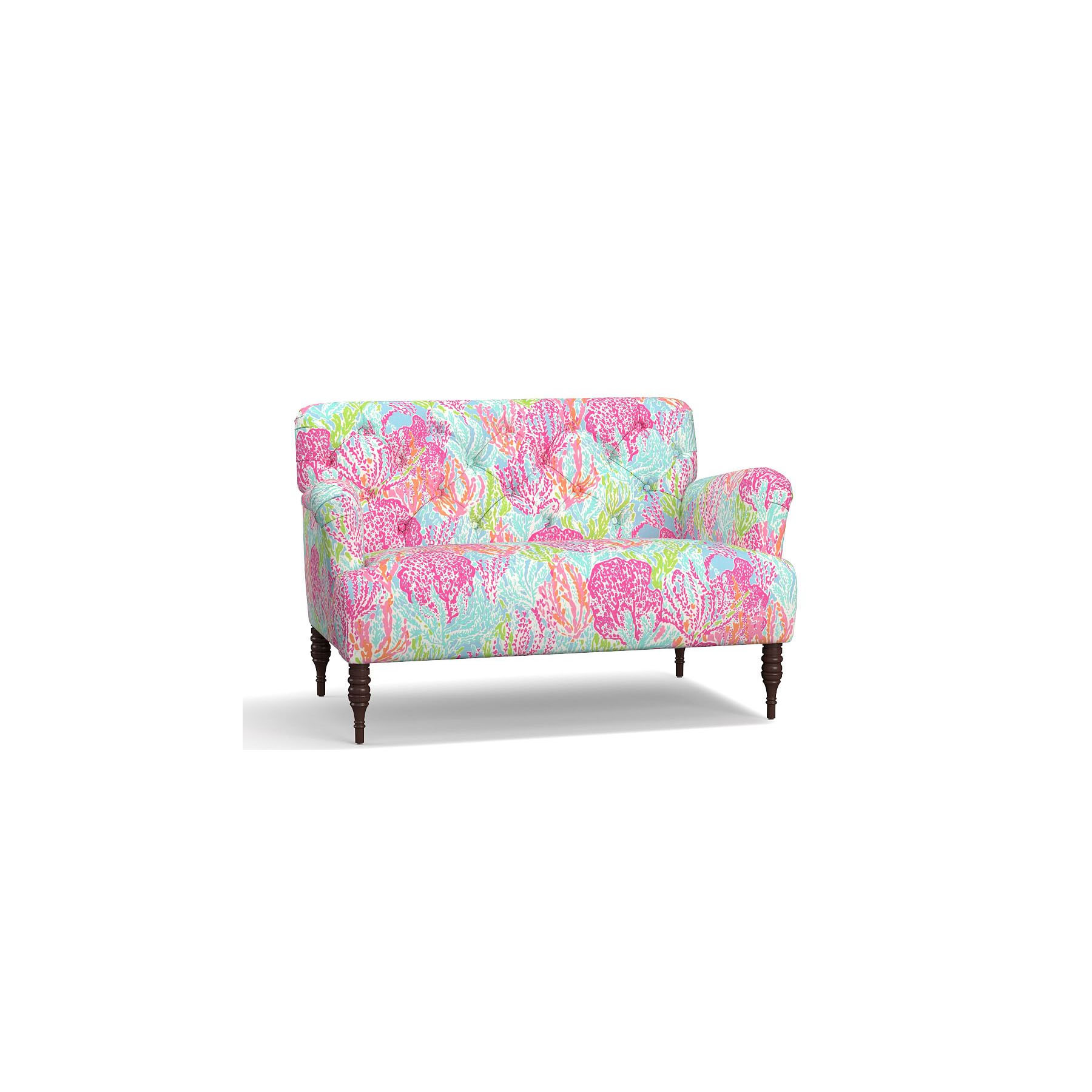 lilly-pulitzer-pottery-barn-madison-settee