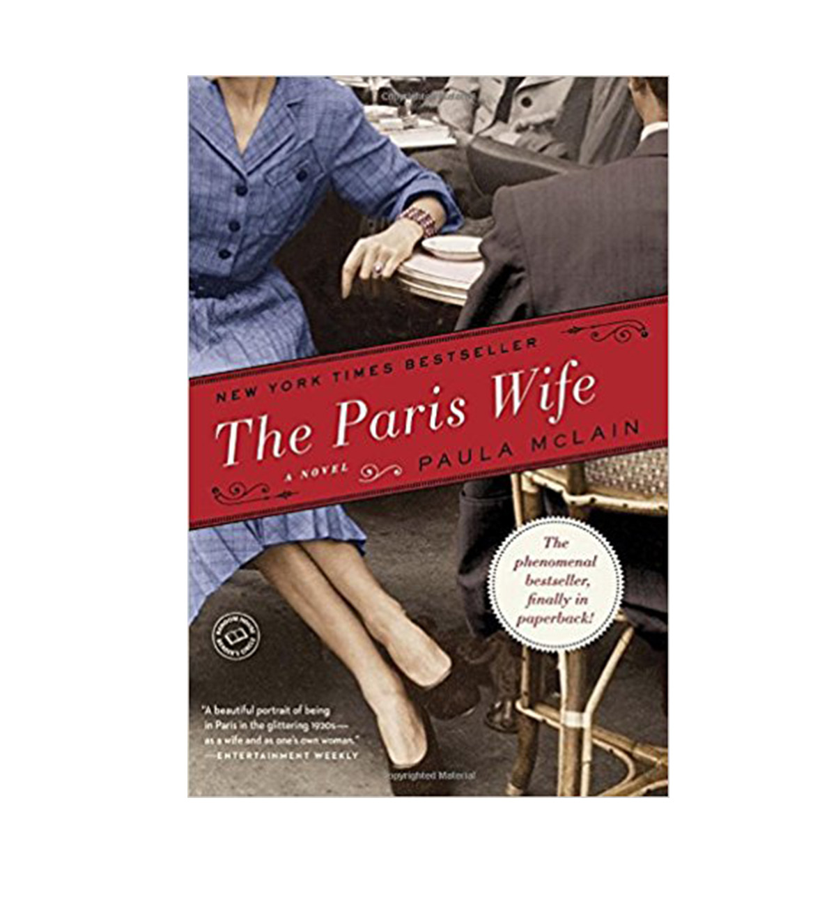 The Paris Wife book cover