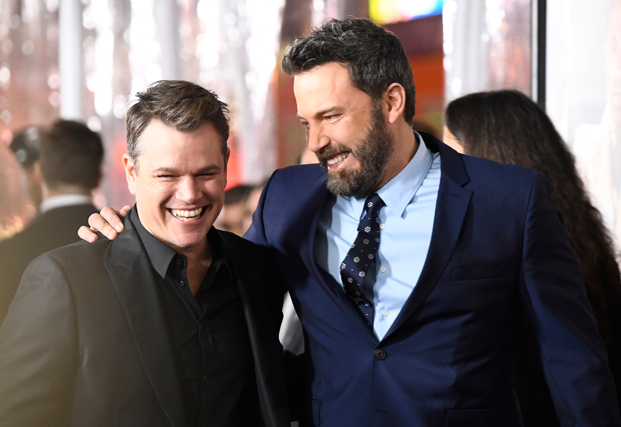 Matt Damon and Ben Affleck Lead