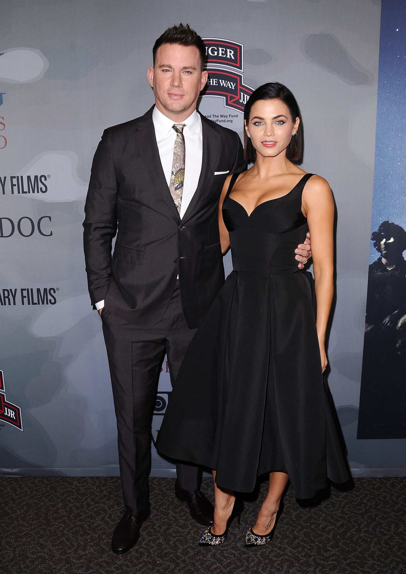 Jenna Dewan and Channing Embed