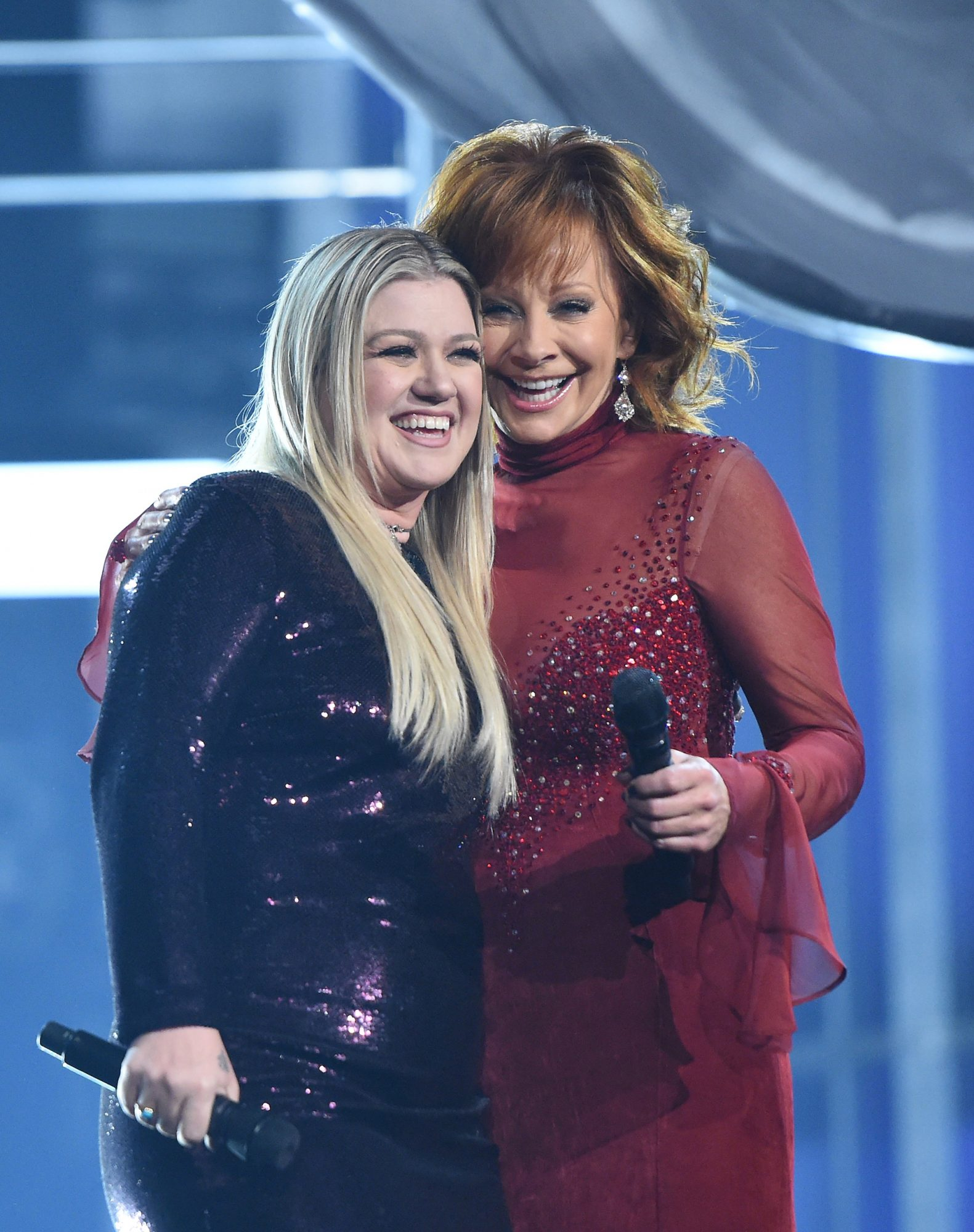 Reba McEntire and Kelly Clarkson lead